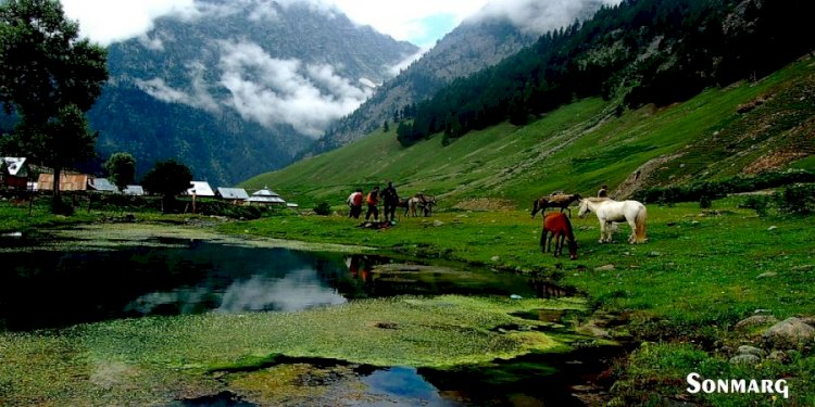 सोनमर्ग के दर्शनीय स्थल - Best Tourist Places Sonmarg in hindi